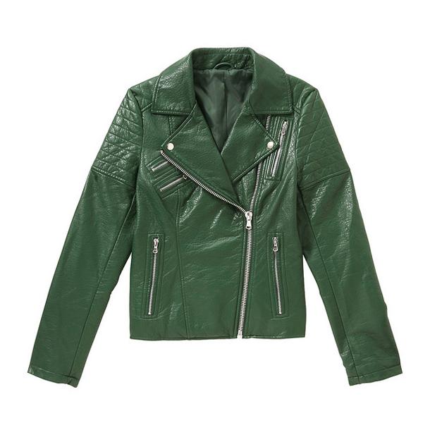Joe Fresh Leather Jacket Fall 2014