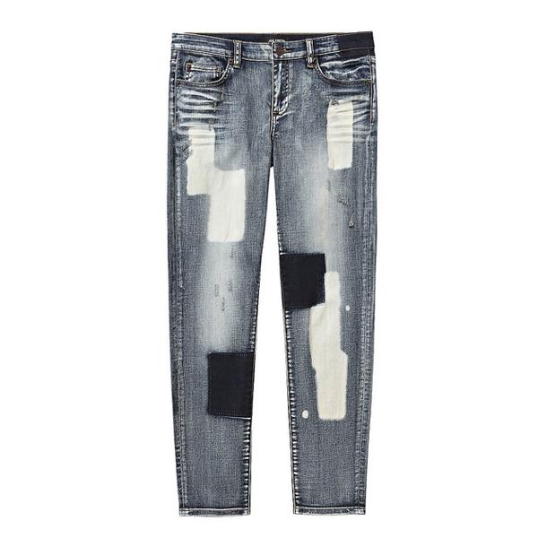 Joe Fresh Patchwork Jeans Fall 2014