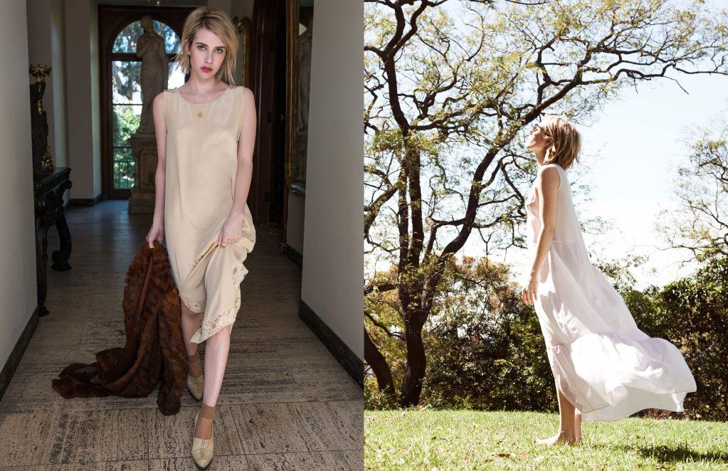 Emma Roberts for ELKIN Fall Winter 2014-3