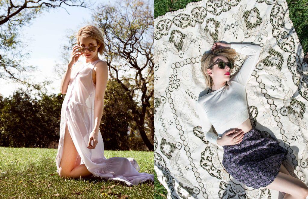 Emma Roberts for ELKIN Fall Winter 2014-4