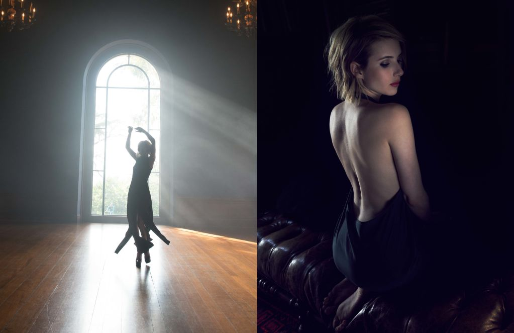 Emma Roberts for ELKIN Fall Winter 2014-6