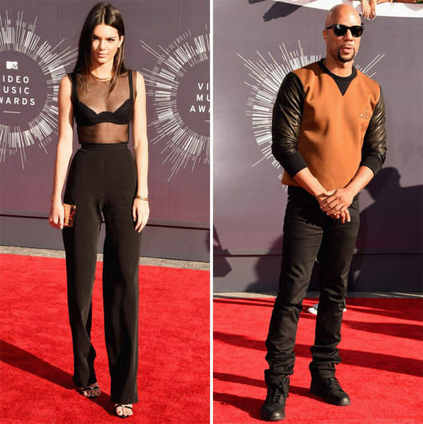Kendall Jenner and Common MTV VMA 2014