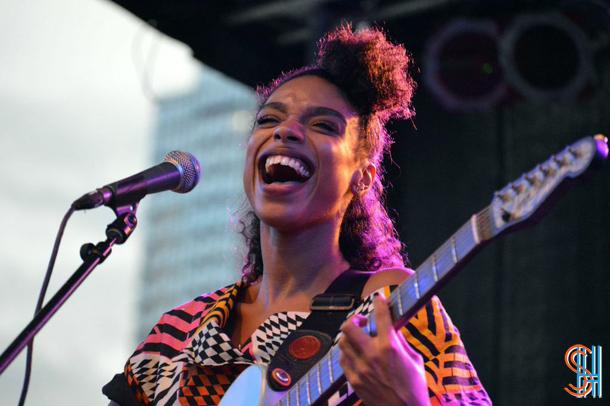 Lianne La Havas at Afropunk Festival 2014, Brooklyn-2