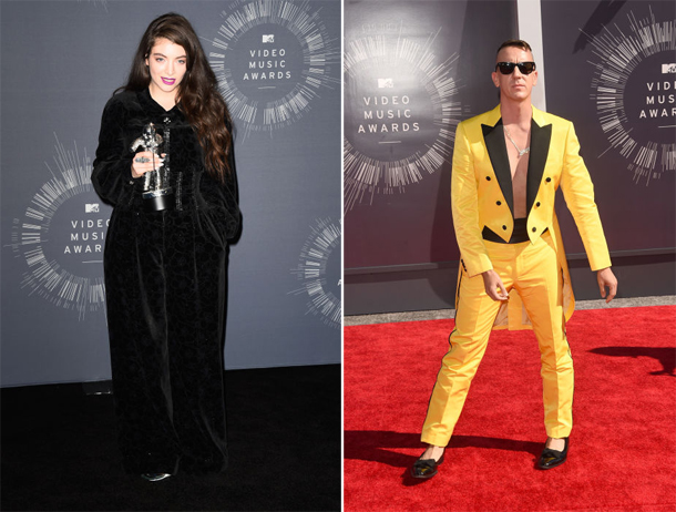 Lorde and Jeremy Scott MTV VMA 2014