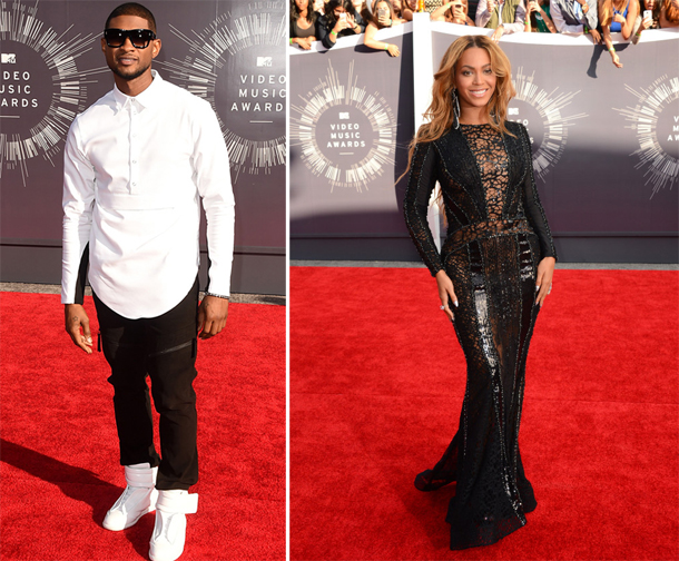 Usher and Beyonce MTV VMA 2014