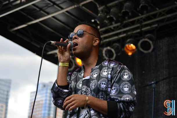 Gordon Voidwell at Afrofest 2014 Brooklyn