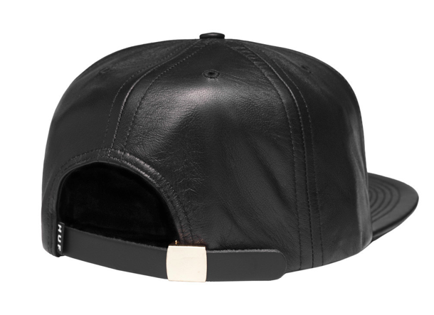 HUF Fuck It Leather Snapback