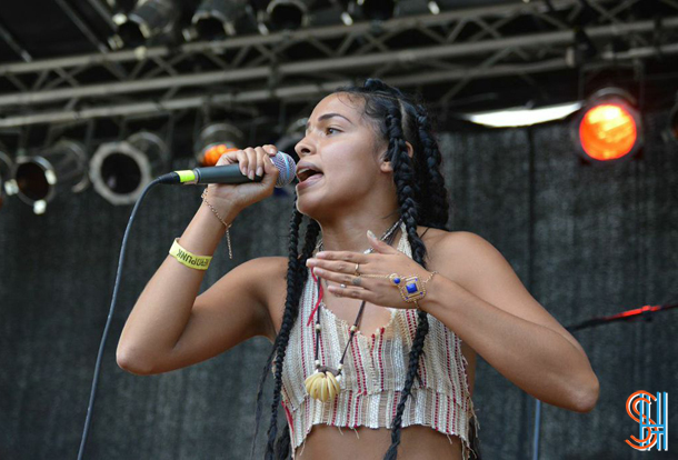 Princess Nokia at Afrofest 2014 Brooklyn-2