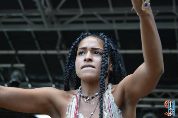 Princess Nokia at Afrofest 2014 Brooklyn-3