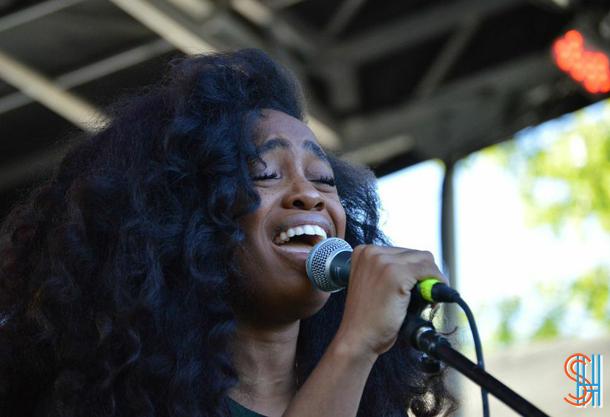SZA at Afrofest 2014 Brooklyn-2