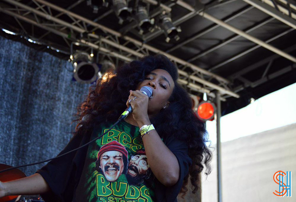 SZA at Afrofest 2014 Brooklyn-3