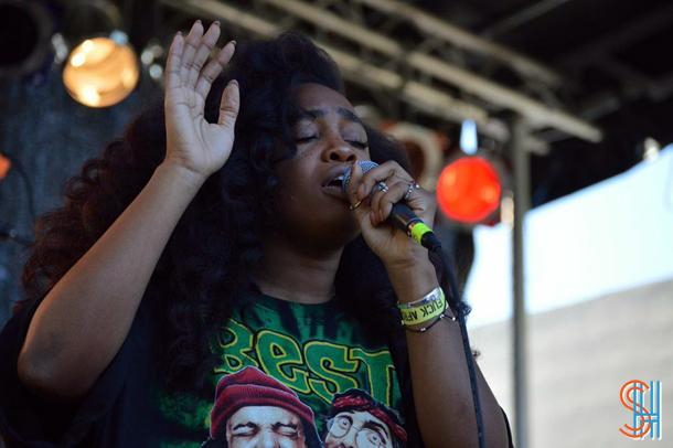 SZA at Afrofest 2014 Brooklyn-4