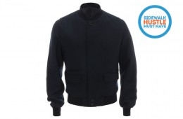 Alexander McQueen Wool Bomber Jacket Pre Fall Winter