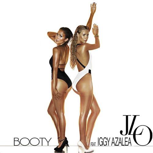 J Lo Iggy Azalea Booty Remix Cover Art
