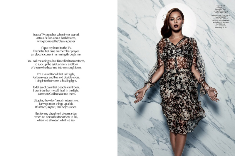 Beyonce for CR Fashion Book Issue 5-7