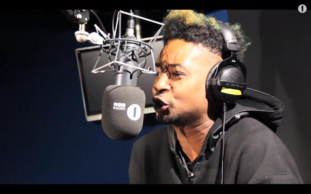Danny Brown Freestyle BBC Radio 1