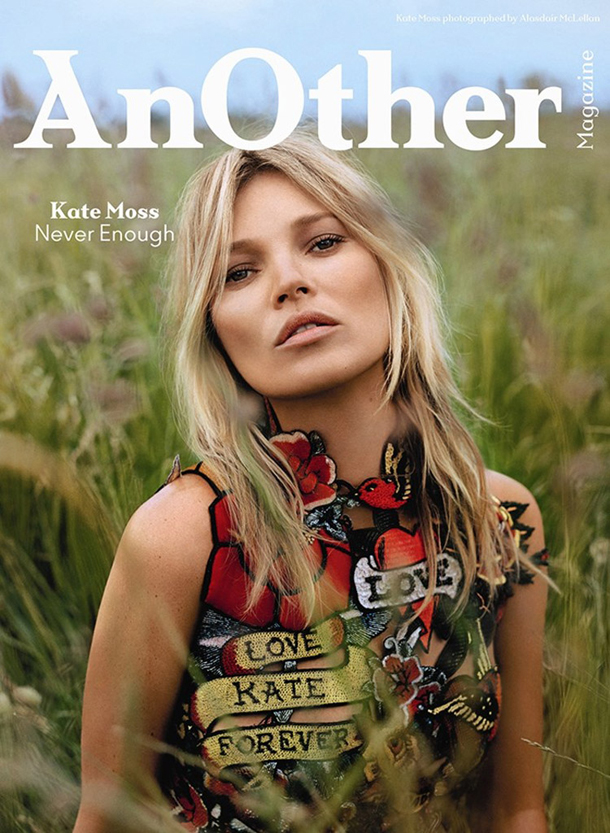 Kate Moss for AnOther Magazine Autumn Winter 2014