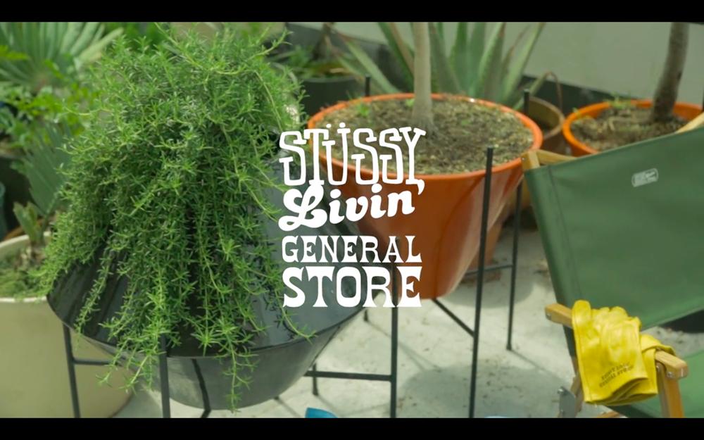 STUSSY Livin GENERAL STORE 2014 Fall Winter Video Lookbook