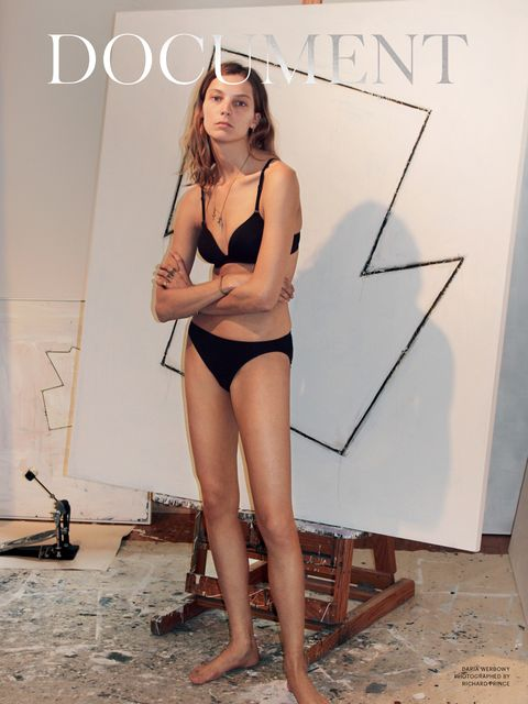 Daria Werbowy for Document Journal No.5