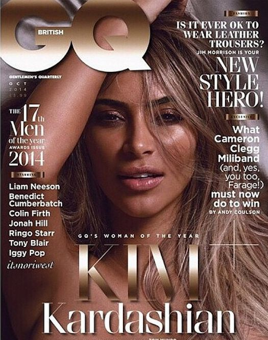 Kim Kardashian for GQ Woman of the Year 2014 Cover