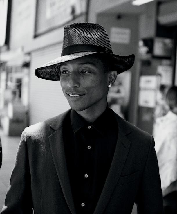 Pharrell Williams for WSJ Magazine Men's Style September 2014-2