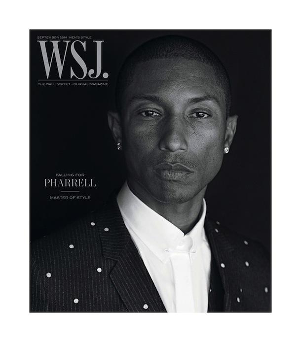 Pharrell Williams for WSJ Magazine Men's Style September 2014