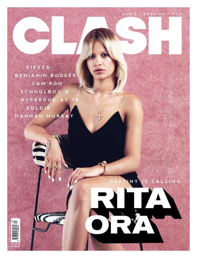 Rita Ora for Clash Magazine No.97