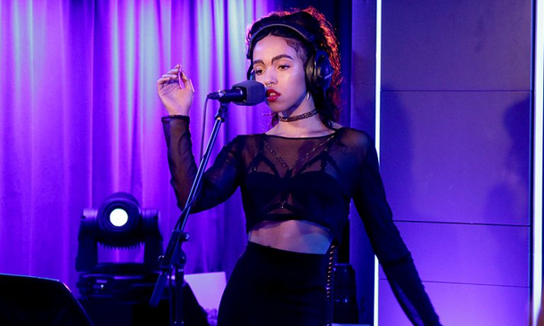 FKA twigs performs Stay With Me Sam Smith Cover Two Weeks BBC Radio 1
