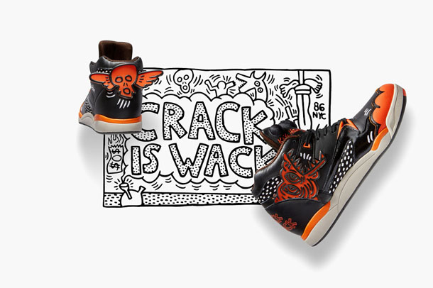 Reebok Classic x Keith Haring Fall Winter 2014 Crack is Wack Pumps