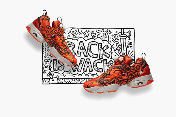 Reebok Classic x Keith Haring Fall:Winter 2014 Crack is Wack Pumps