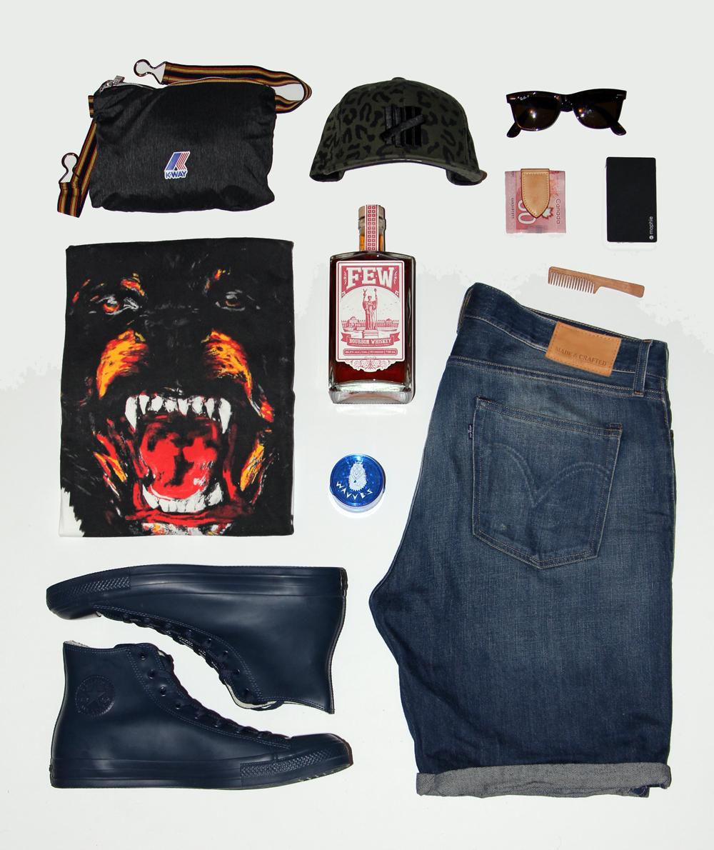 Riot Fest Toronto Mens Clothing Grid