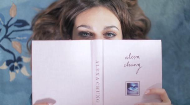 Alexa Chung for Longchamp Fall 2014 Campaign