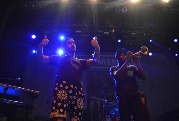 Chatting with Amir Amor of Rudimental in New York