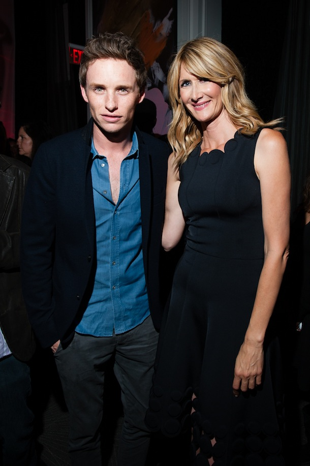 Eddie Redmayne, Laura Dern 99 Homes TIFF 2014 Party