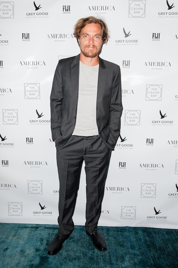 Michael Shannon at the 99 Homes TIFF party 2014