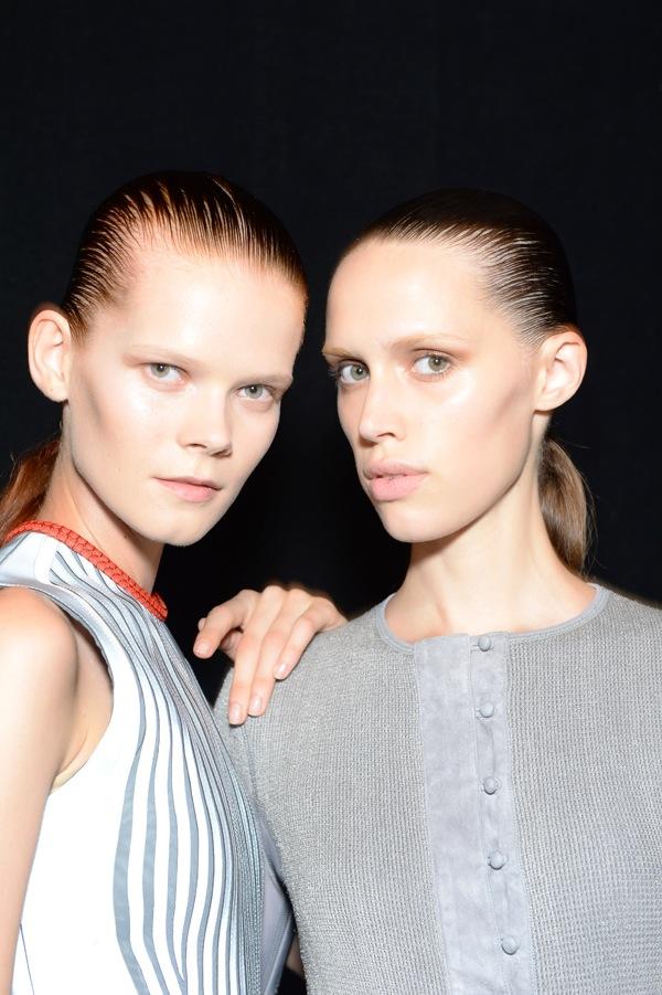 New York Fashion Week Beauty Alexander Wang SS 2015-2