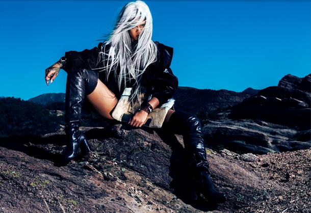 Rihanna Tush Magazine