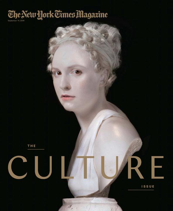 Lena Dunham for New York Times Magazine