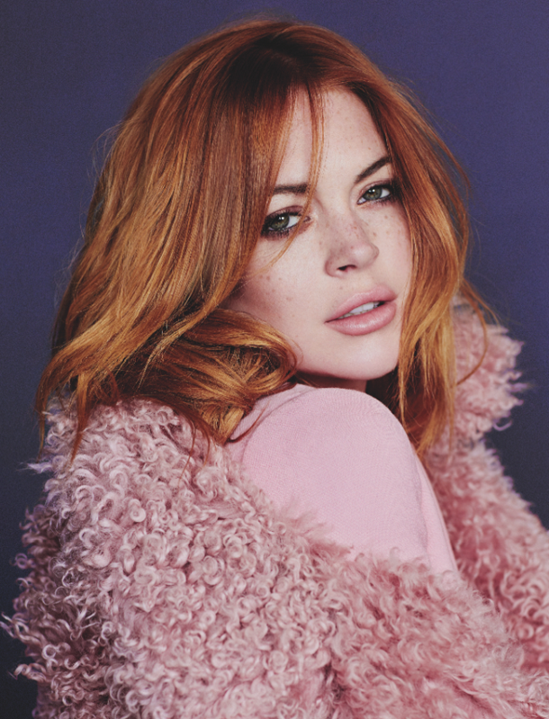 Lindsay Lohan for Wonderland Magazine-2