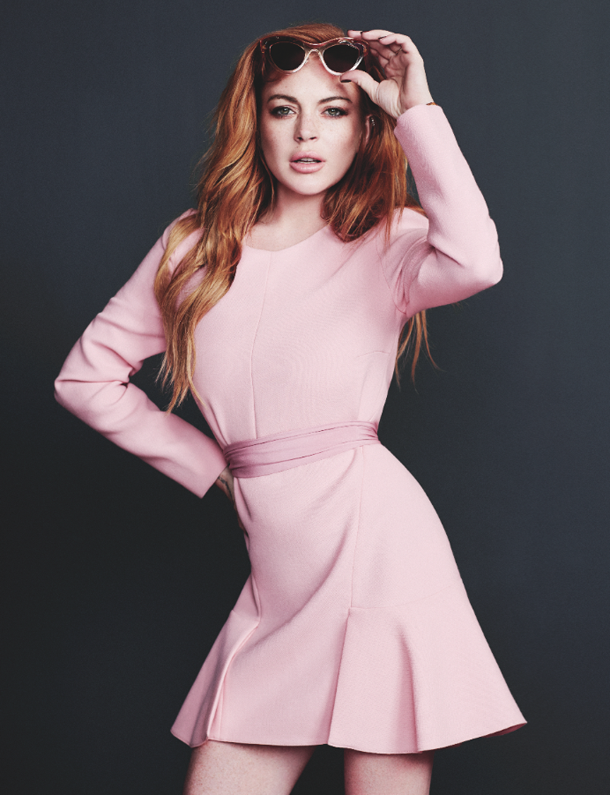 Lindsay Lohan for Wonderland Magazine-3