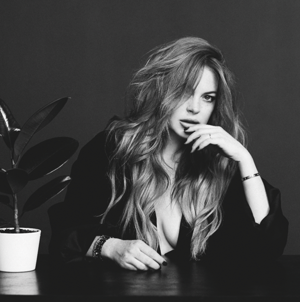 Lindsay Lohan for Wonderland Magazine-4