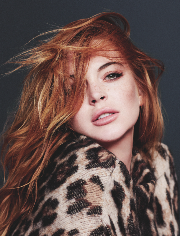 Lindsay Lohan for Wonderland Magazine-5