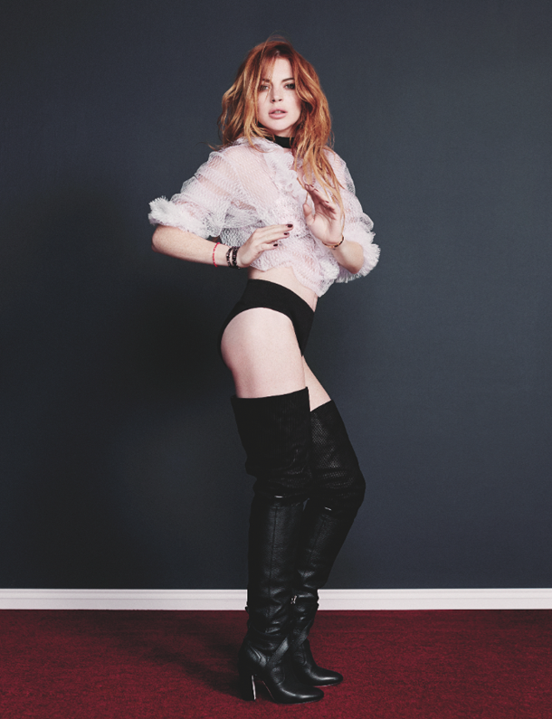 Lindsay Lohan for Wonderland Magazine-8