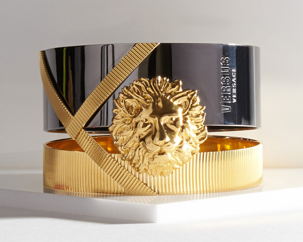 Anthony Vaccarello x Versus Versace Lion Medallion Bracelet