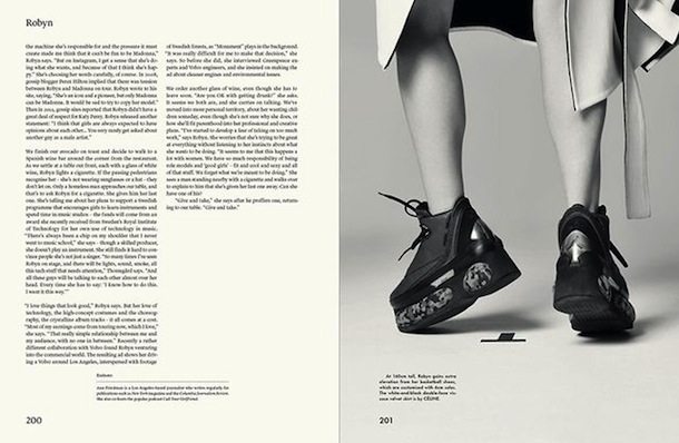 Fashion style Gentlewoman the robyn autumnwinter for woman