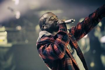 Kanye West at AAHH! Fest 2014