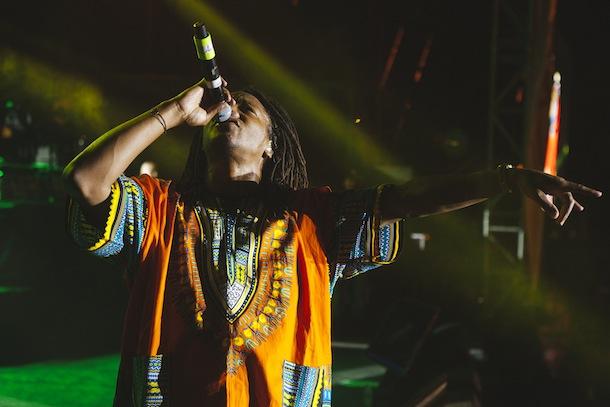 Lupe Fiasco at AAHH! Fest 2014