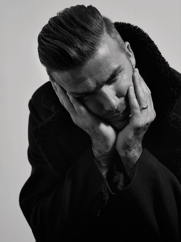 David Beckham AnOther Man Magazine Fall Winter 2014