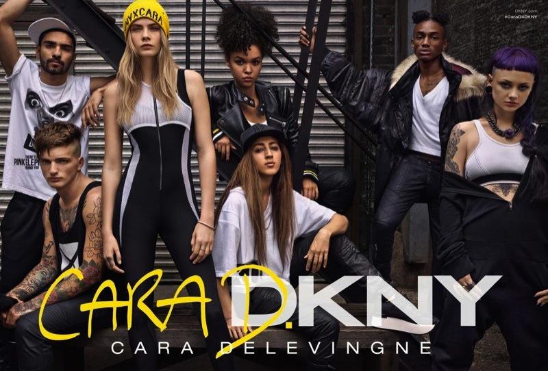 Cara Delevingne for DKNY Fall 2014