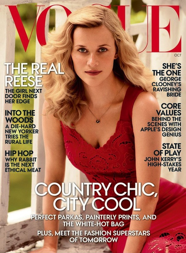 Reese Witherspoon for Vogue US October 2014
